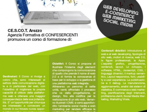 Corso Web Developing eWeb Marketing