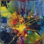 Angini - Esplosione di colori - 2011 - olio su tavola - 100x100
