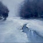 Borsoi - Il silenzio della neve - 2014 - tecnica mista su tela - 60x80
